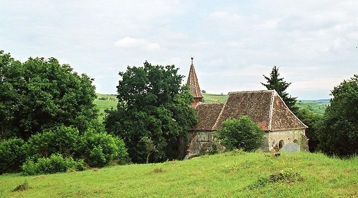 Biserica medievală din Zlagna