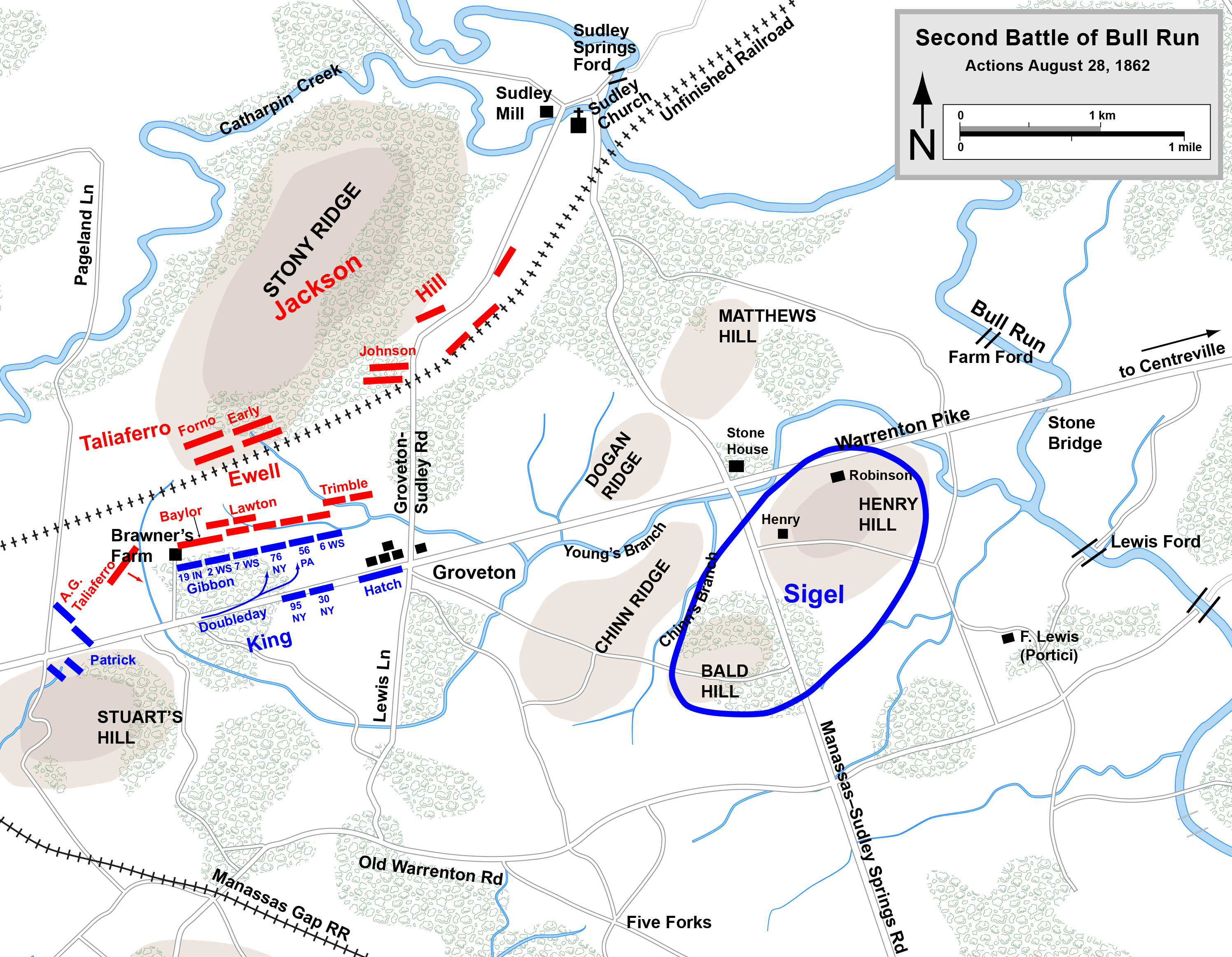 second battle of bull run military wiki