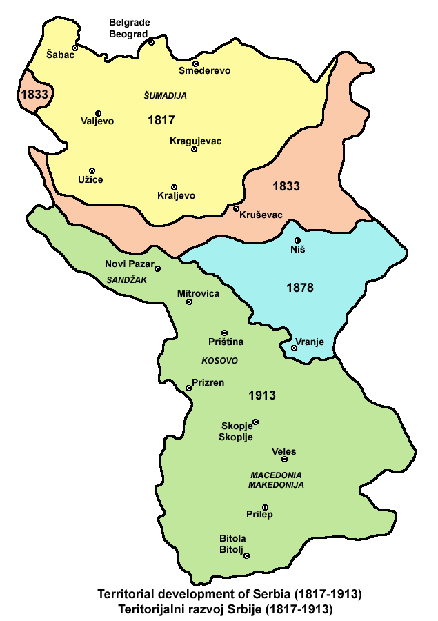 an overview of the history of serbia West bohemian historical review v | 2015 | 2 history of kosovo from  in 1912,  serbia, montenegro, bulgaria and greece allied against the ot- toman empire.