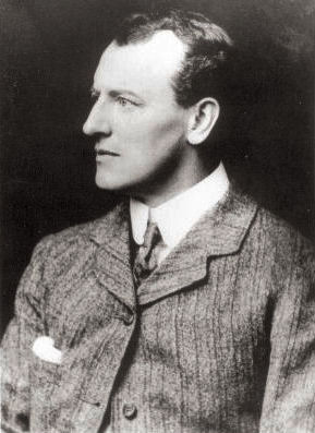 Sidney Paget, whose illustrations in The Strand Magazine iconicised Holmes and Watson SidneyEdwardPaget.jpg
