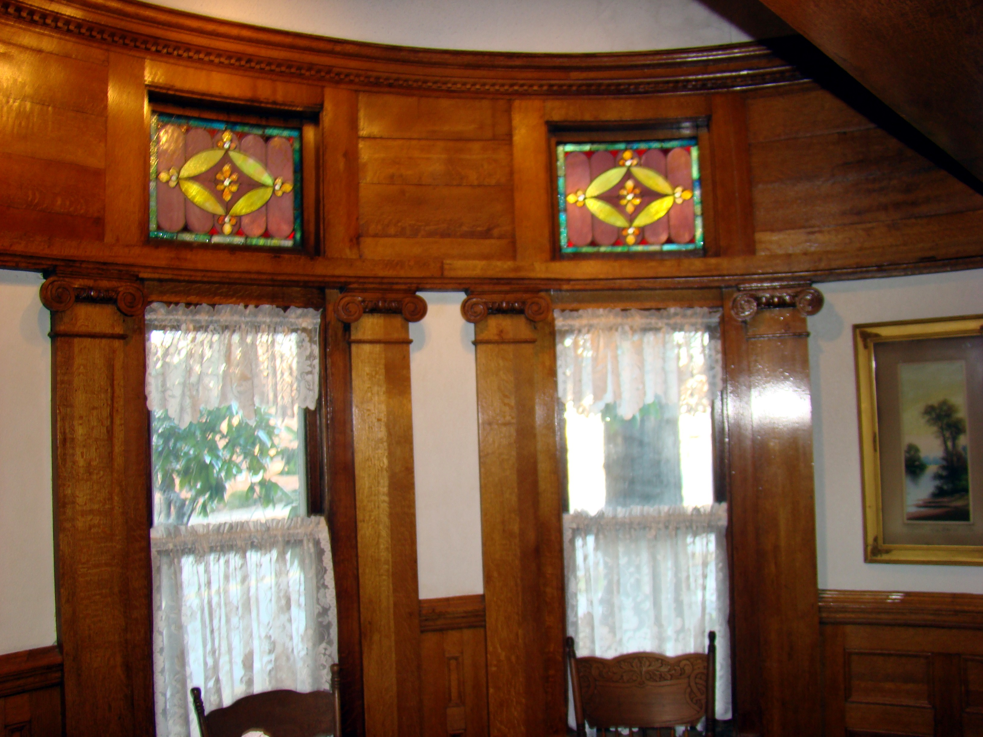 File simmons bond house diningroom stained glass window for Dining room c house of commons