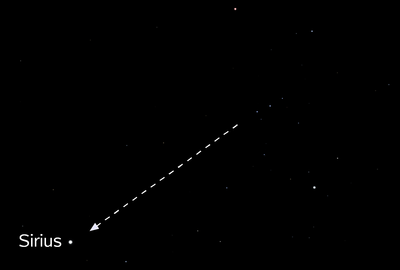 Sirius Orion Belt