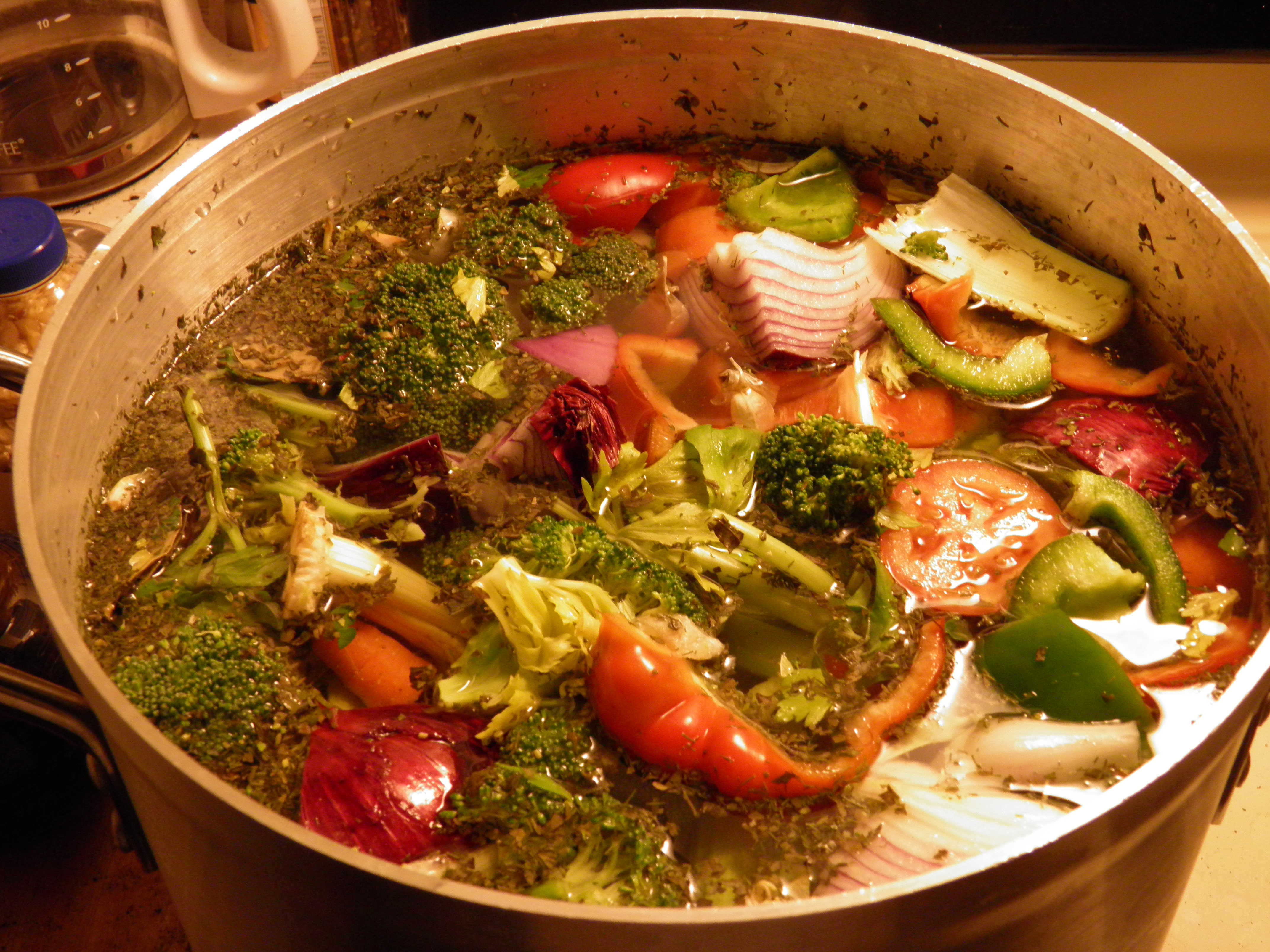 Image result for soup in pot