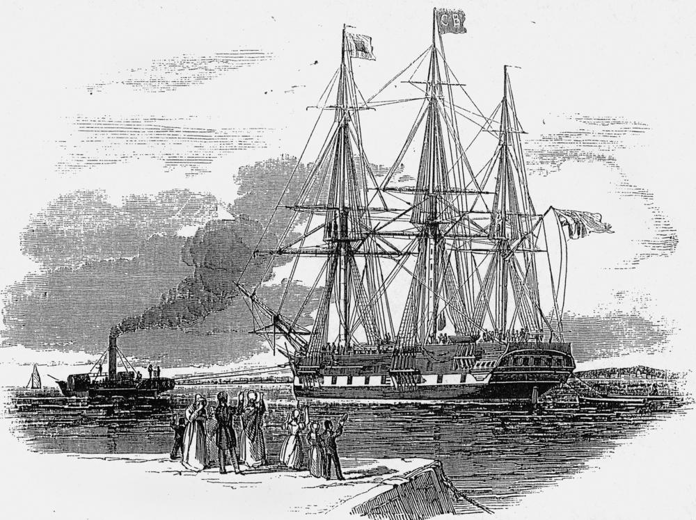 St Vincent (1829) - Wikipedia