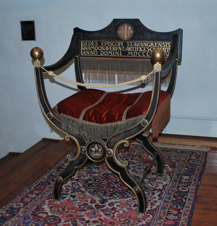 File:Stavanger Cathedral Bishopu0027s Chair.