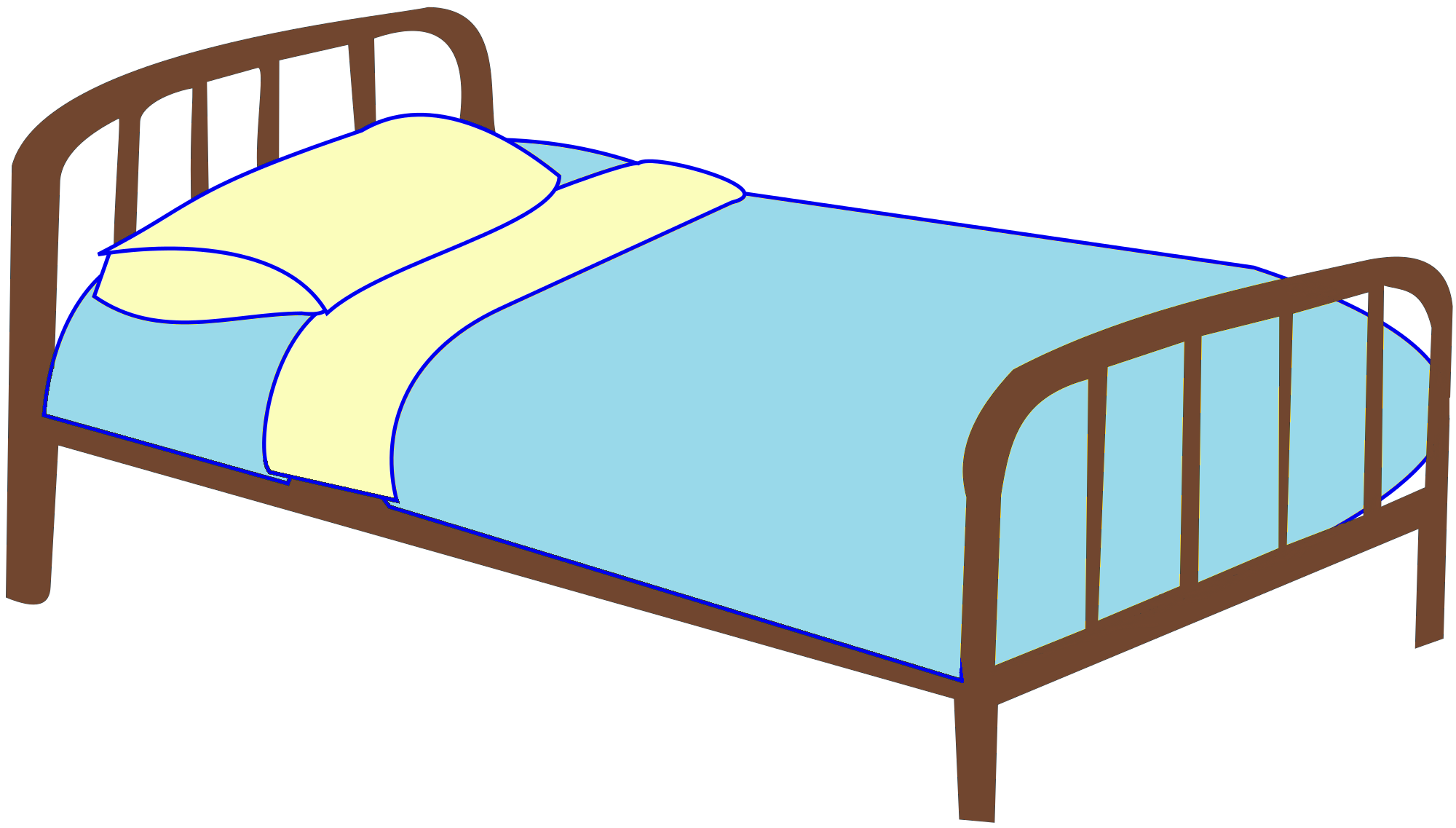 Bed Pictures Simple Of Hospital Bed Clip Art Image
