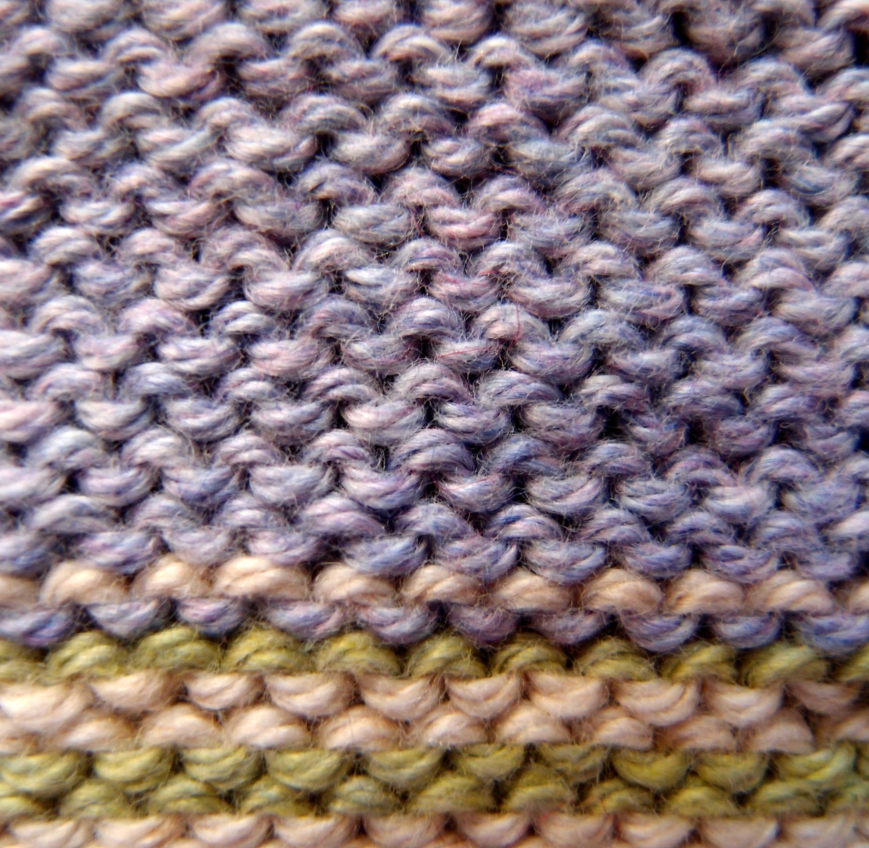 Knitting Stitches Examples : Knitting Basic Knit Stitch Continental Method