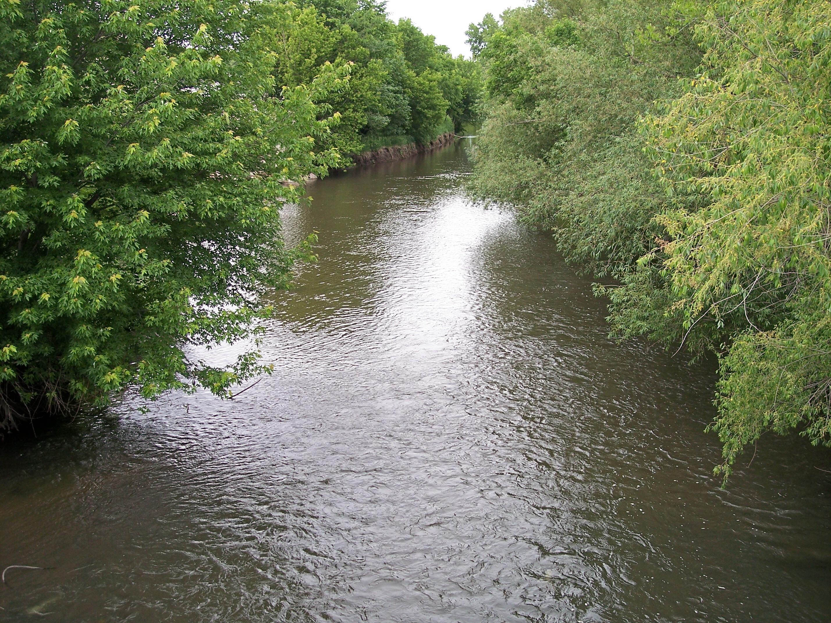 filestraight river owatonnajpg wikimedia commons