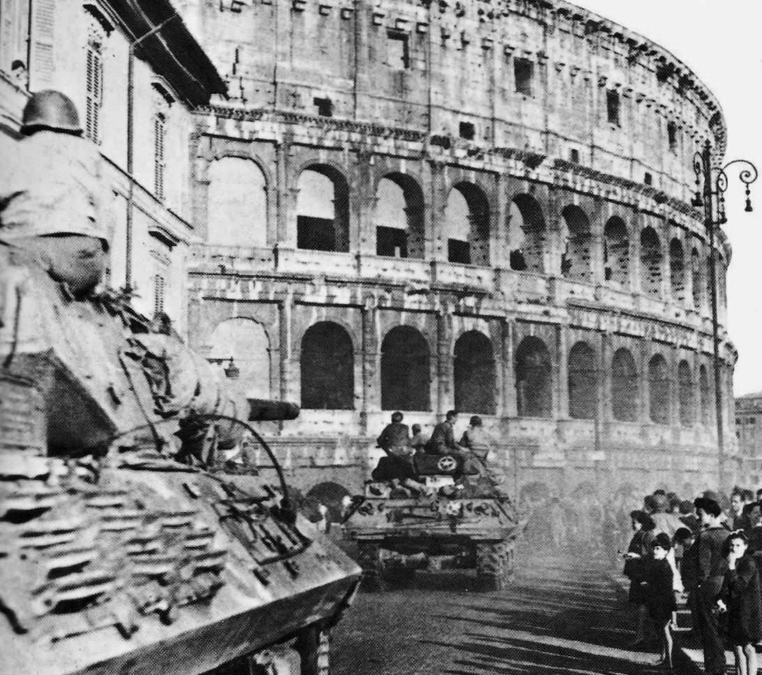 Resultado de imagen de roma seconda guerra mondiale
