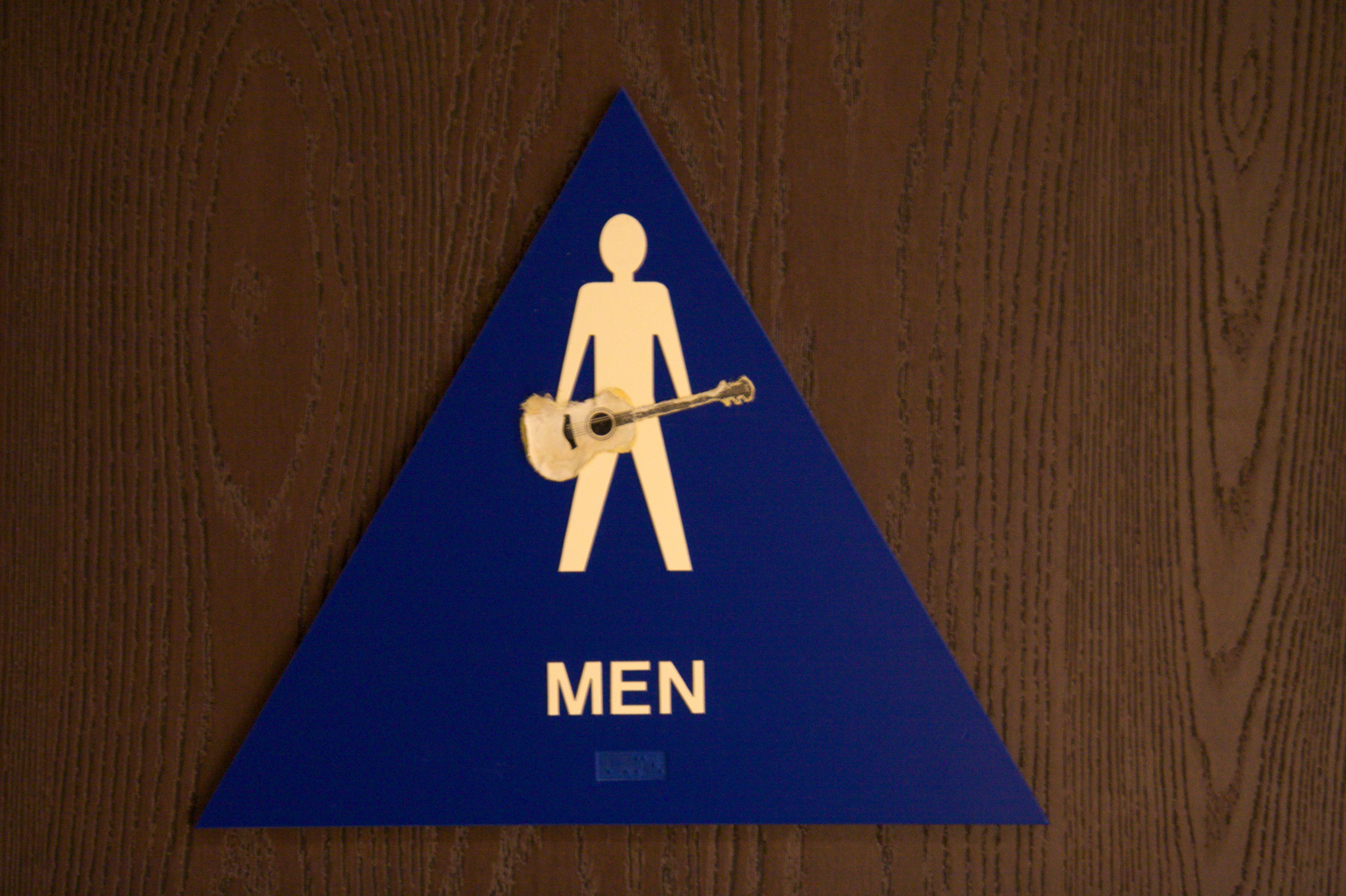 Bathroom Signs History file:tgft06 restroom sign for men - taylor guitar factory