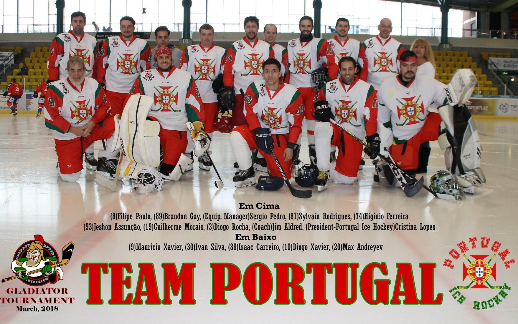File Team Portugal At The Gladiators Tournament Nijmegen Holland