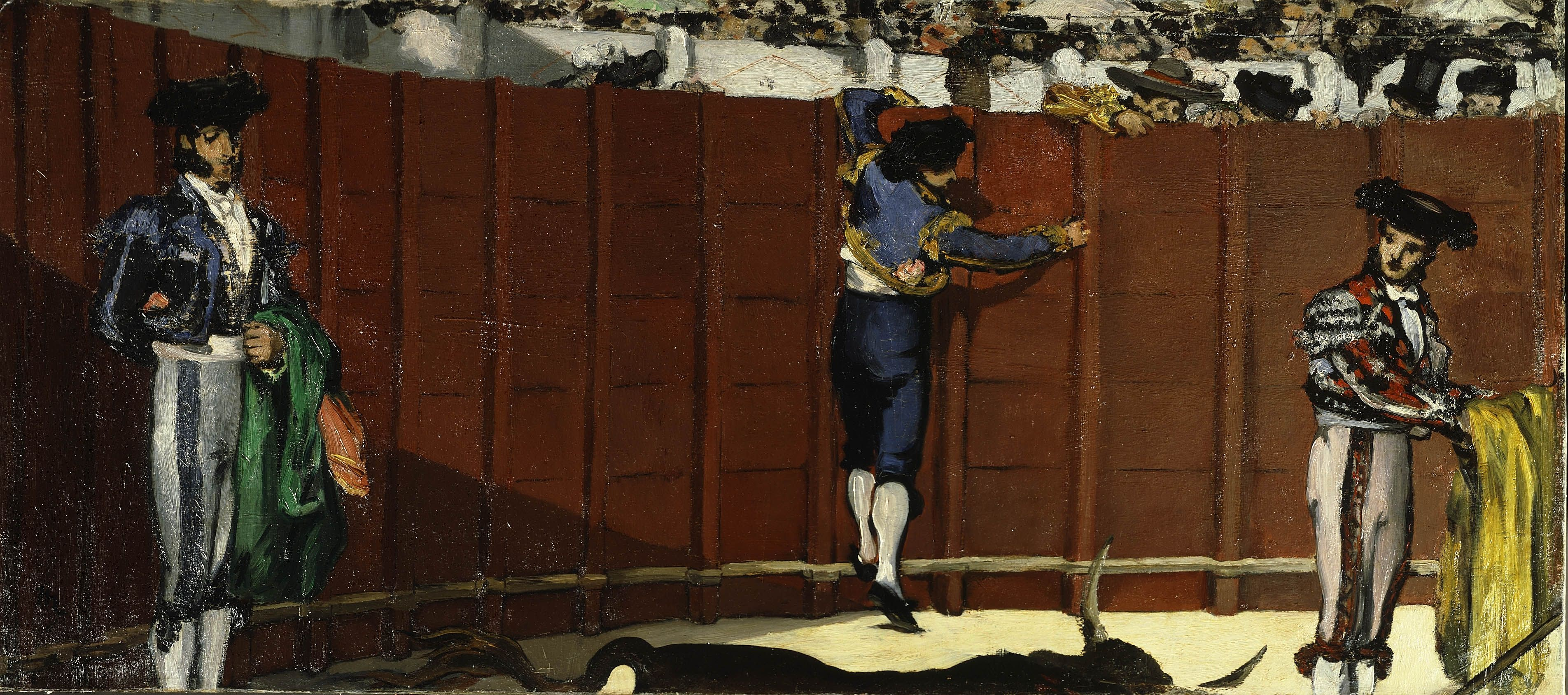 Image result for Édouard Manet, The Bullfight