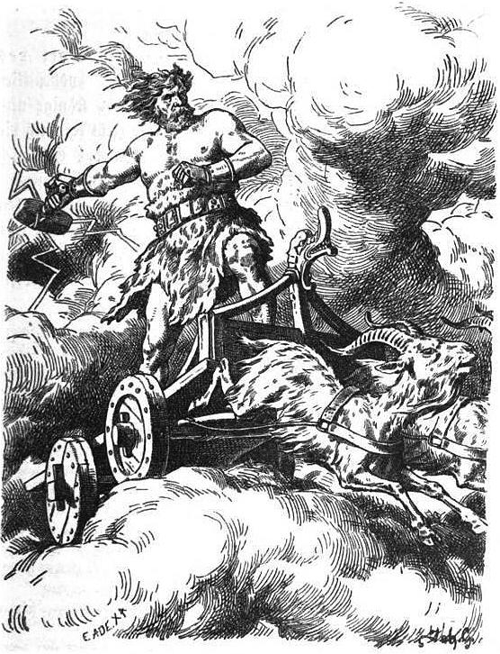 nordiske guder thor