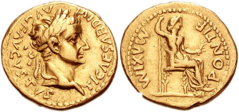 Archivo:Tiberius&Livia Aureus.jpg