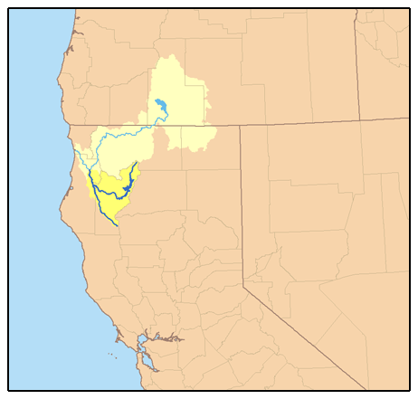 upper trinity river watershed - 462×441