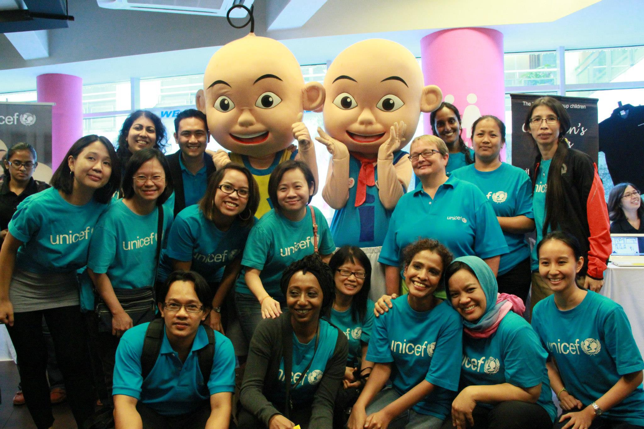UNICEF Malaysia officially named Upin and Ipin as National Ambassadors for children in 2013.