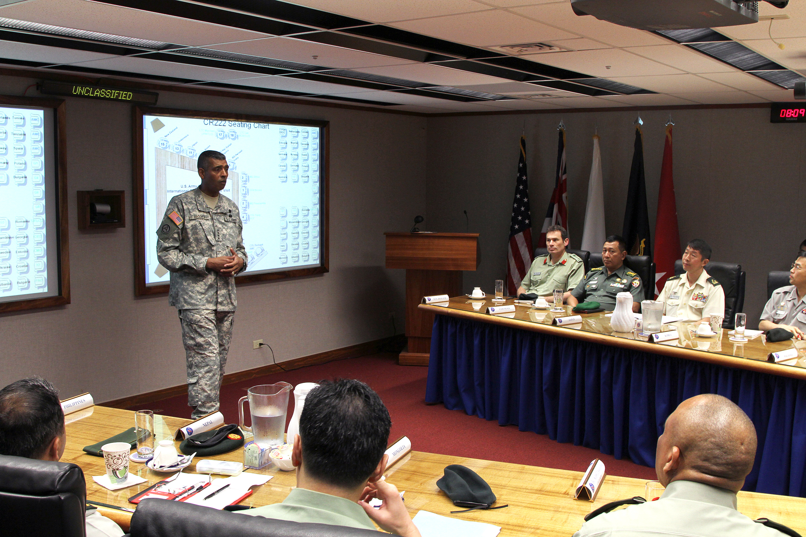 US Army War College International Fellows visit USARPAC 150205-A-RV513-032.jpg English: U.S. Army Pacific Commanding General Gen. Vincent K
