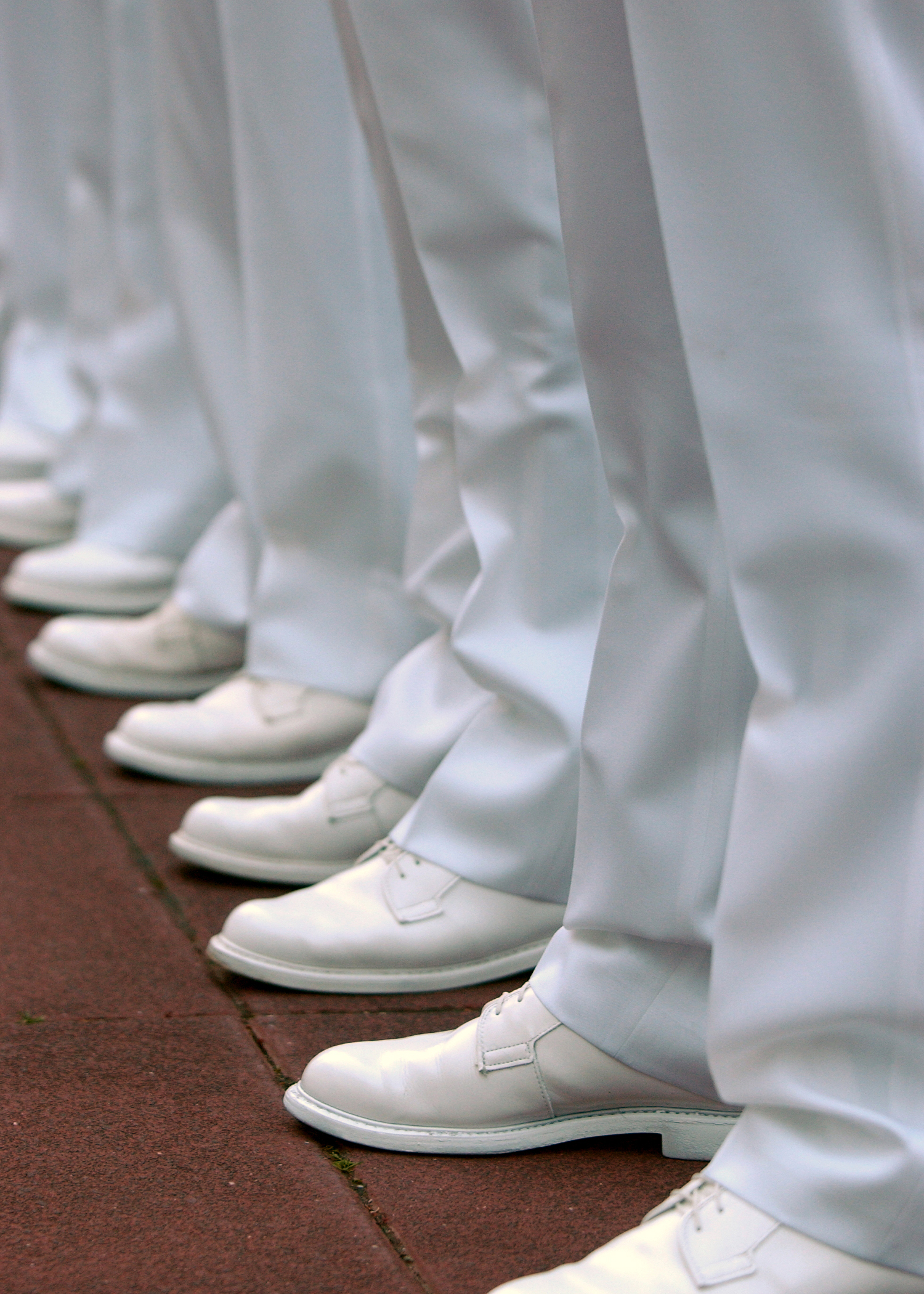 Officer White Shoes