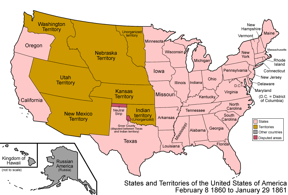FileUnited States Png Wikimedia Commons - Map of us 1861
