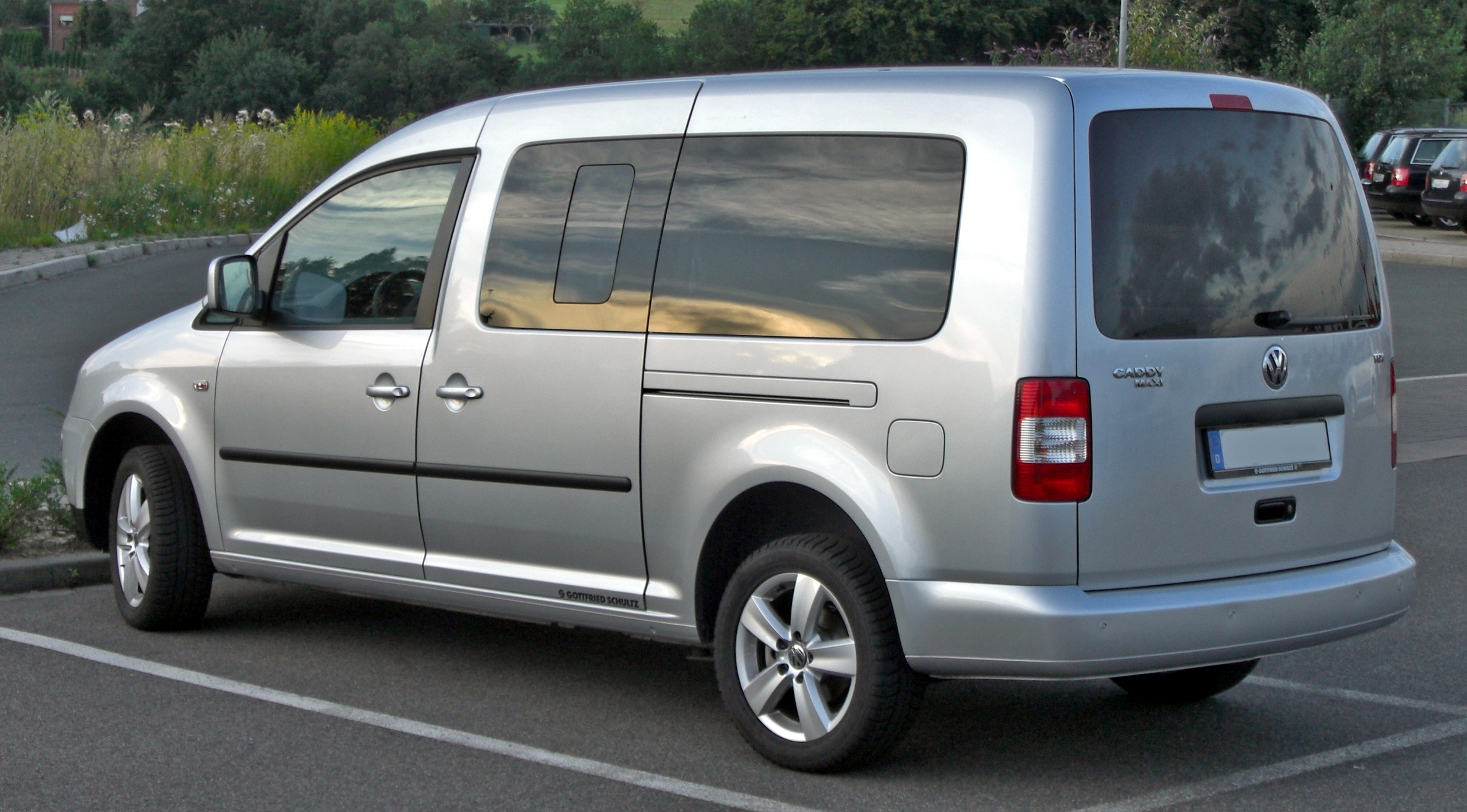 Datei Vw Caddy Life Maxi Rear Jpg Wikipedia
