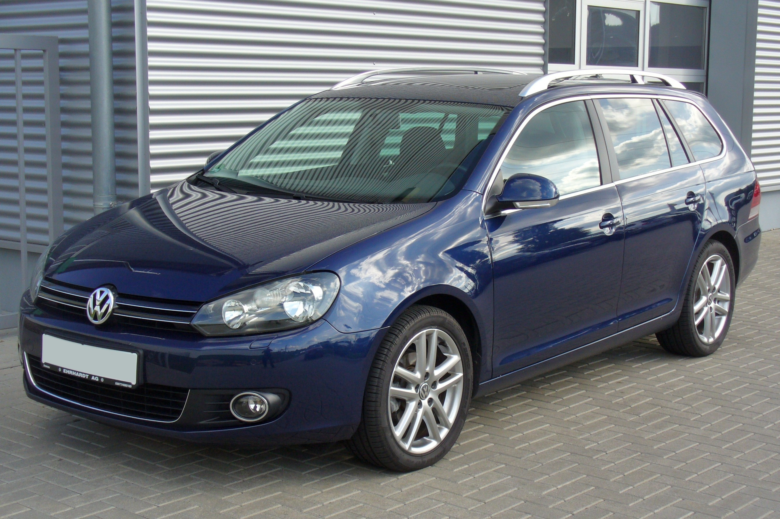 File Vw Golf Variant Vi 1 6 Tdi Highline Shadow Blue Jpg