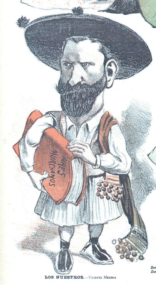 Vicente Medina en Don Quijote (1902)