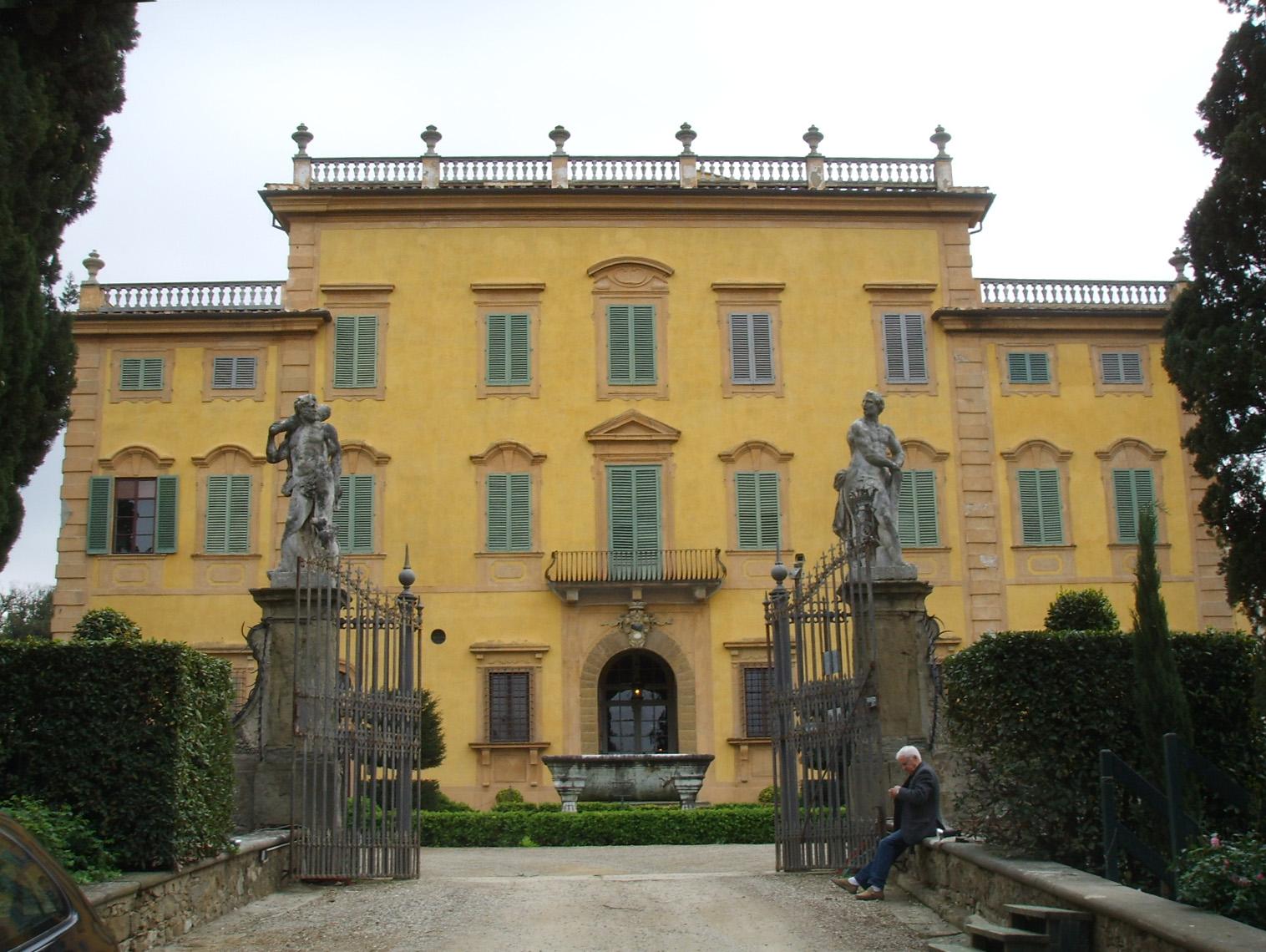 Villa la pietra wikiwand for Villas firenze