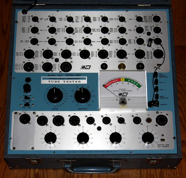 File:Vintage B&K Dyna-Jet Dynamic Mutual Conductance Tube