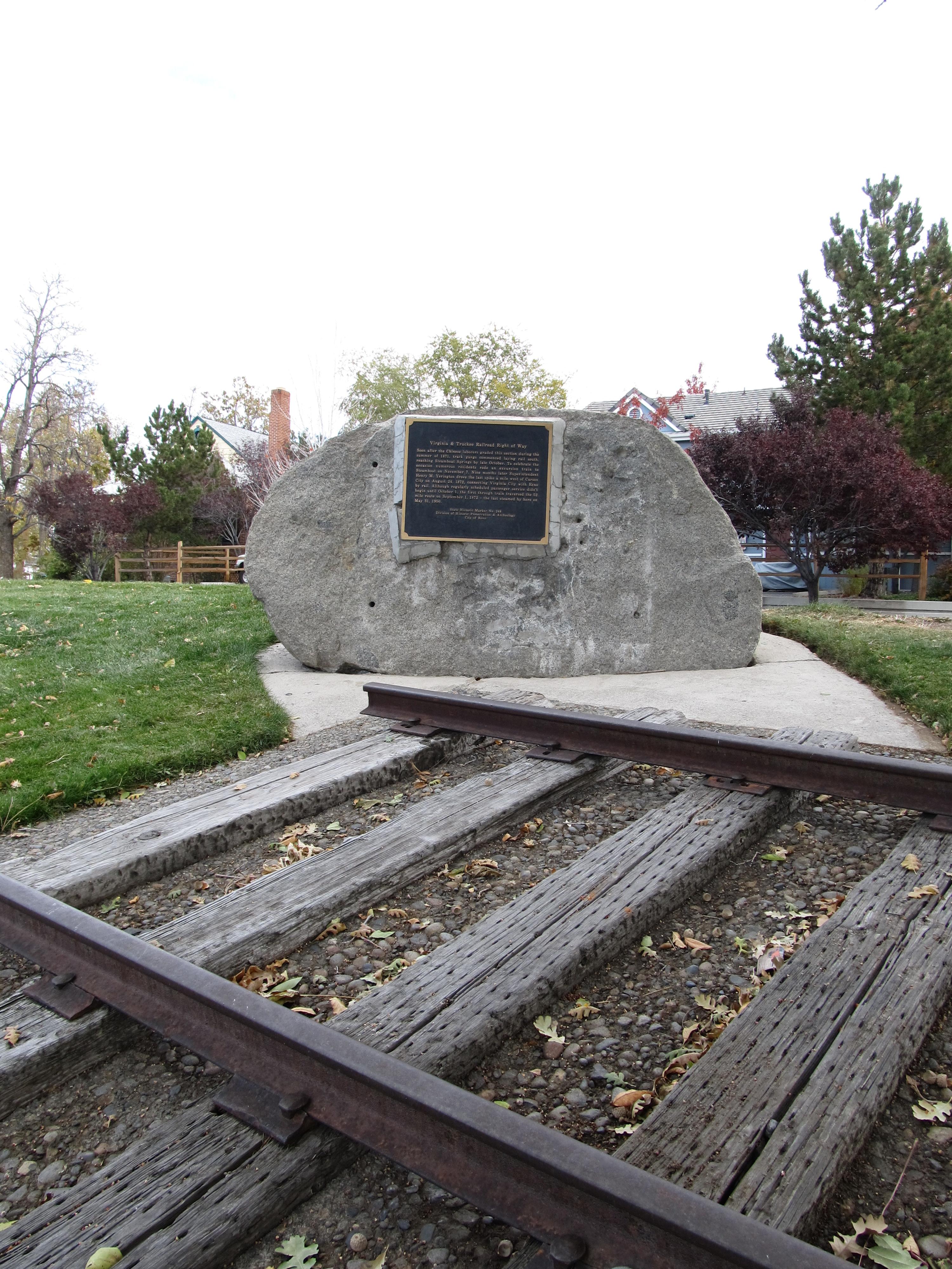 File Virginia Truckee Railroad Right Of Way Nevada