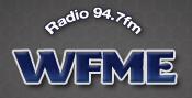 WFME's logo in 2012, under Family Radio ownership.