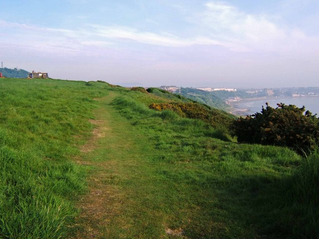 Wheatcroft Cliff Path - geograph.org.uk - 185148