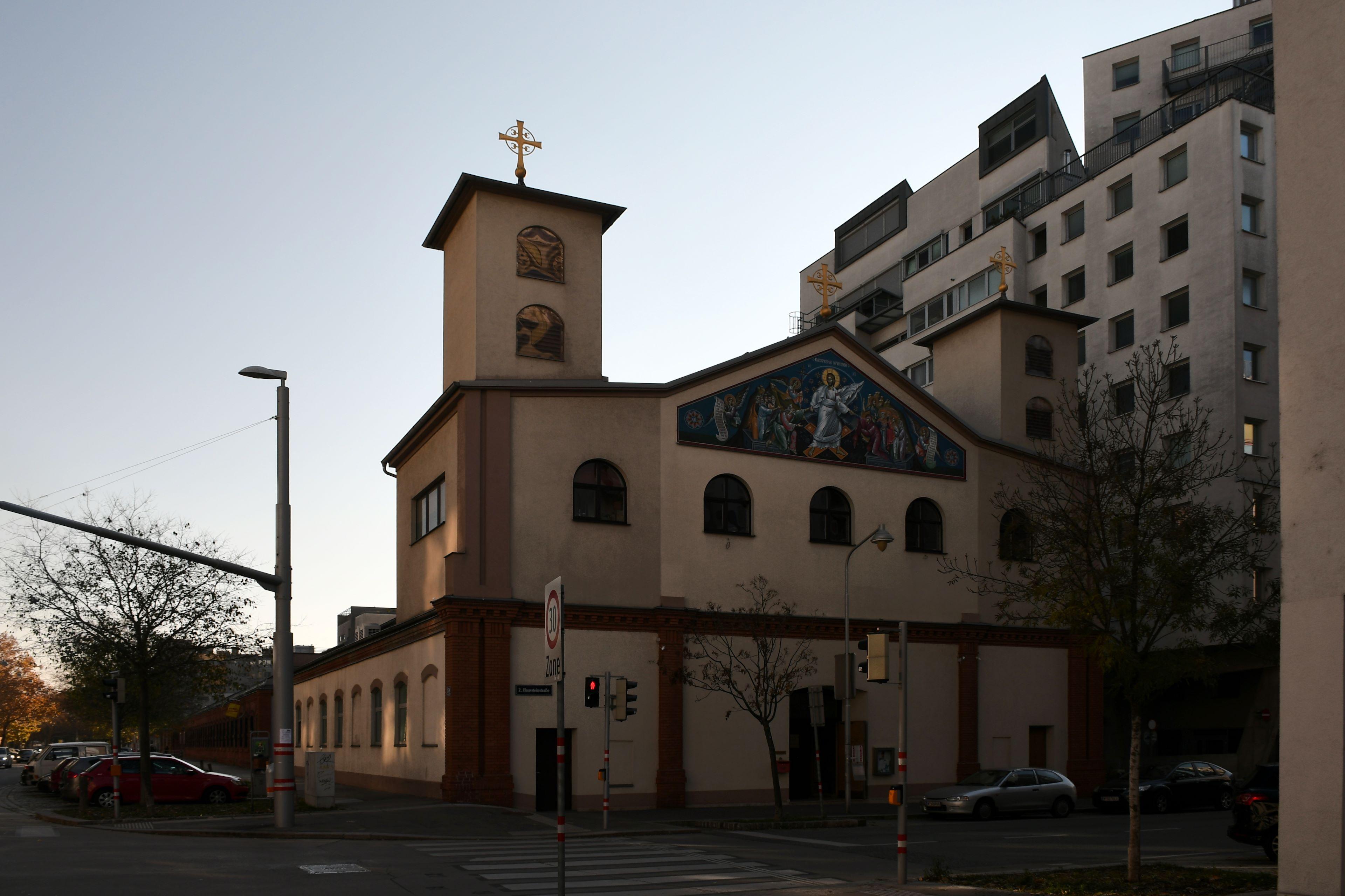 Файл:Wien, Serbisch-orthodoxe Kirche Christi Auferstehung