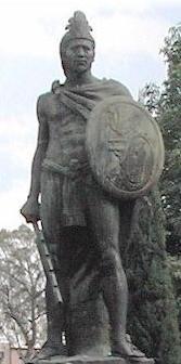 Xicohténcatl el joven guerrero Tlaxcalteca