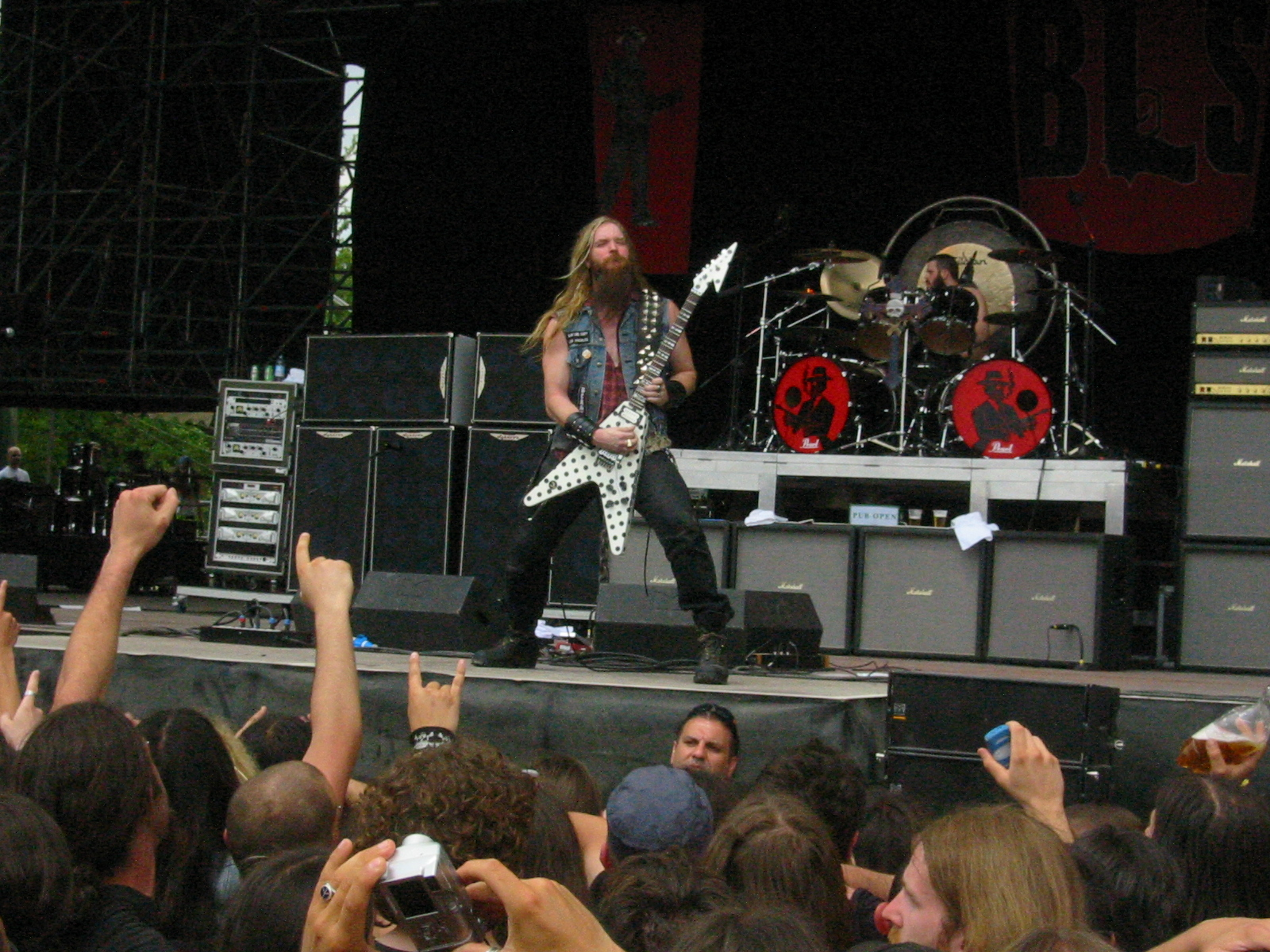 Descrizione zakk wylde summer bologna 2005 gods of metal