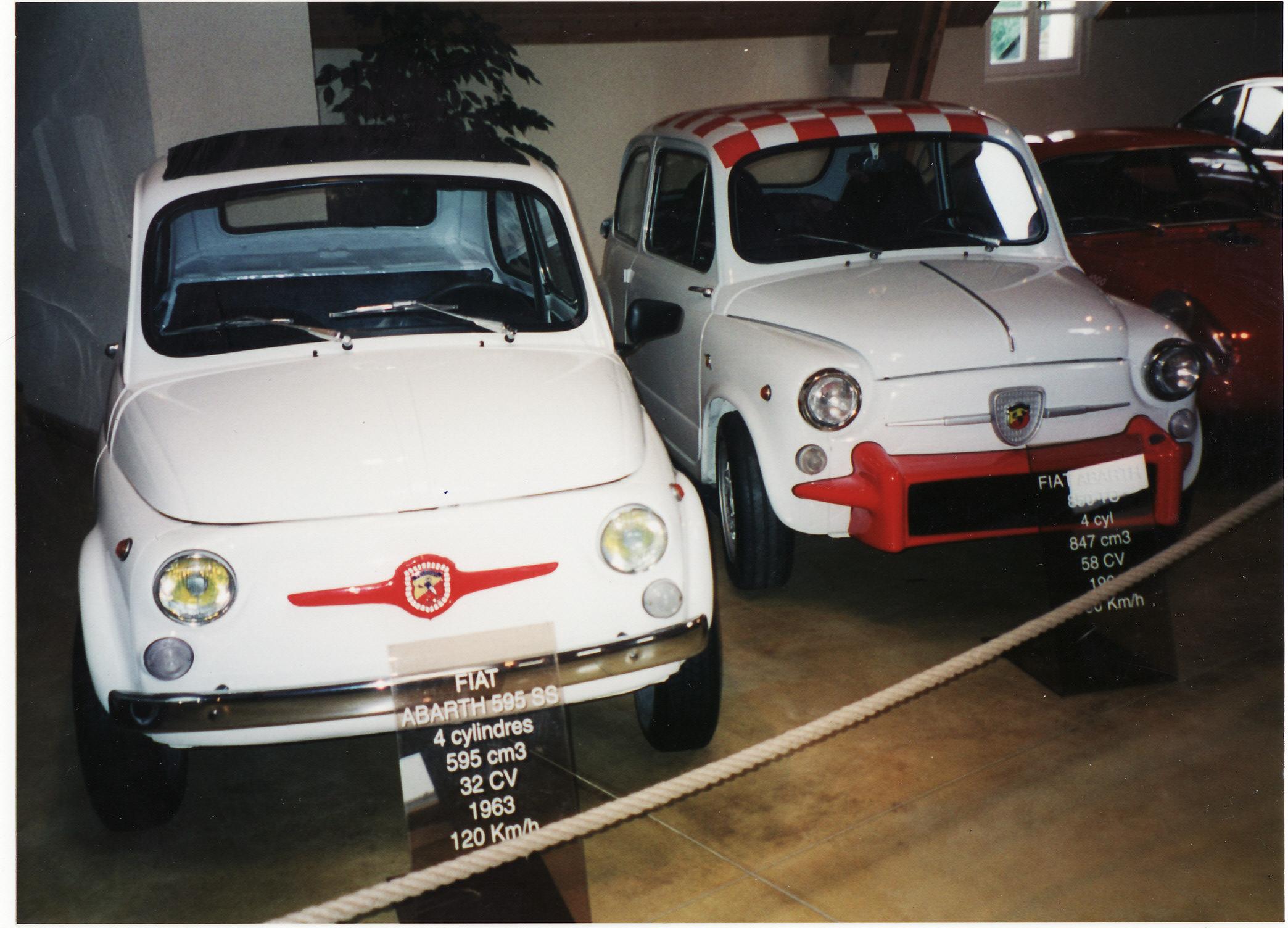 File:1963 Fiat Abarth 595 SS & 850 TC (16593245622).jpg - Wikimedia