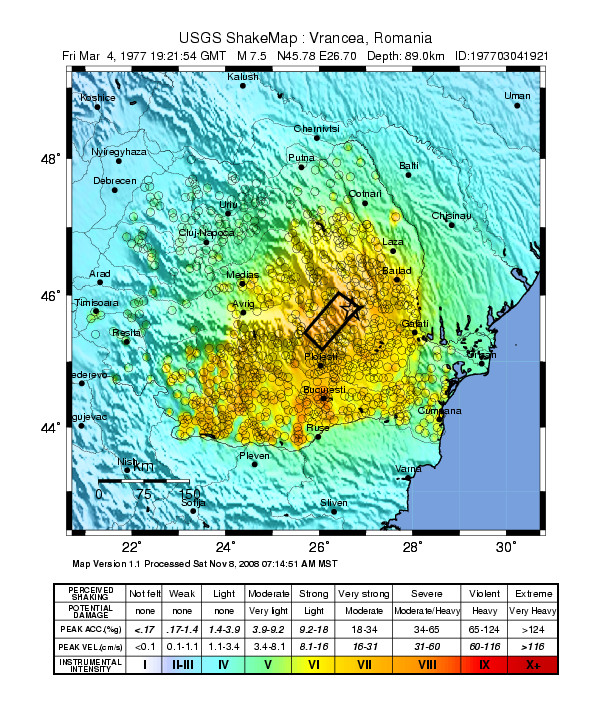 1977 Vrancea Earthquake Wikipedia