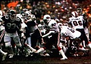 The Jets playing the Bills in the 1981 AFC Wild Card game.