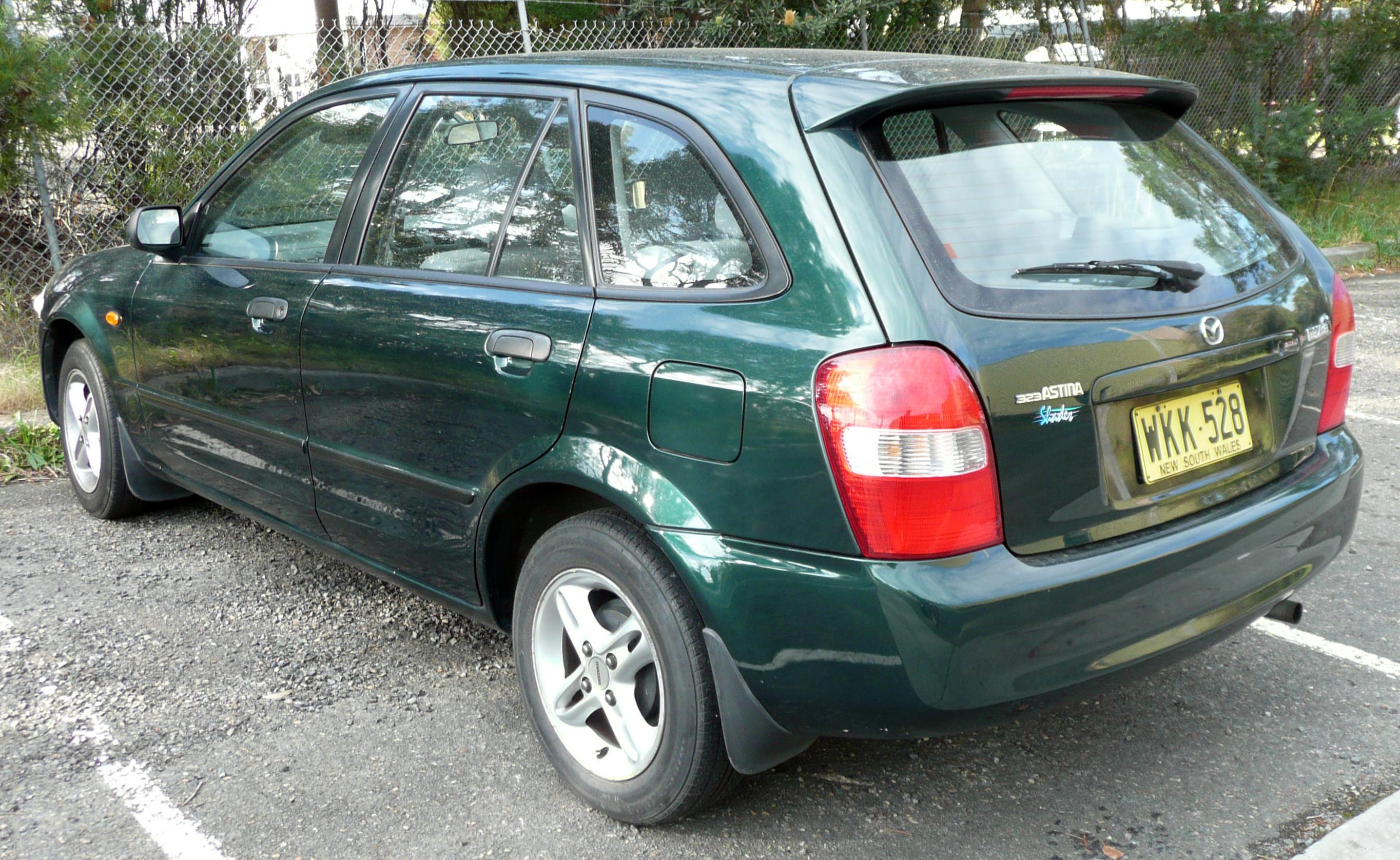 Mazda 3 5door >> File:1999-2000 Mazda 323 (BJ) Shades Astina 5-door hatchback 03.jpg - Wikimedia Commons