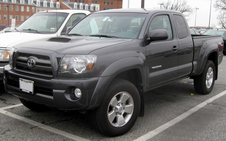 File:2009 Toyota Tacoma ext cab.jpg - Wikimedia Commons