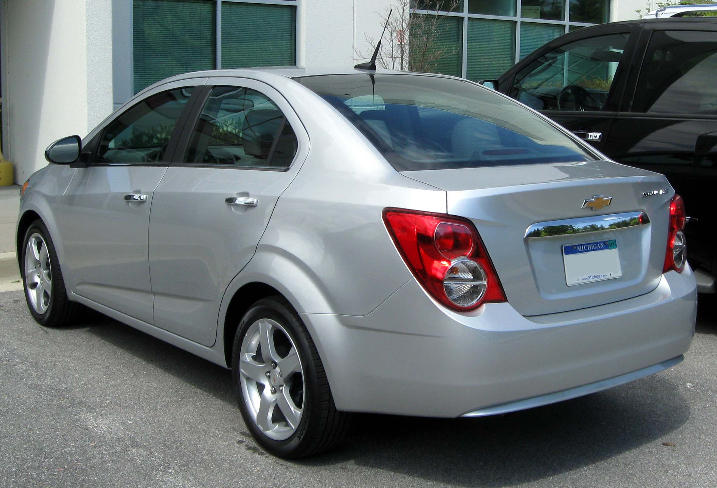 2012 Chevrolet Sonic Sedan LTZ