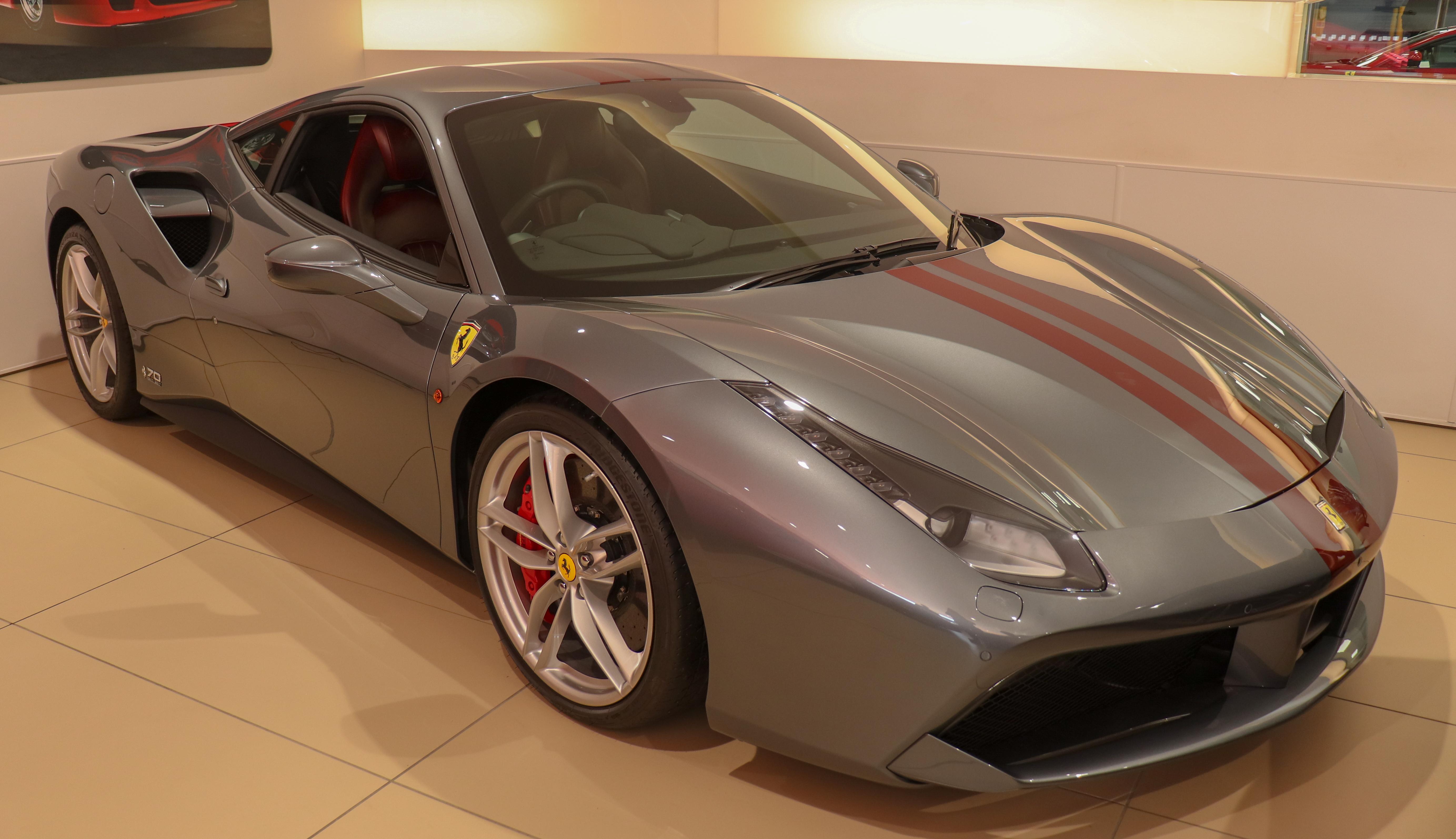 File 2017 Ferrari 488 Gtb 70th Anniversary Jpg Wikimedia Commons