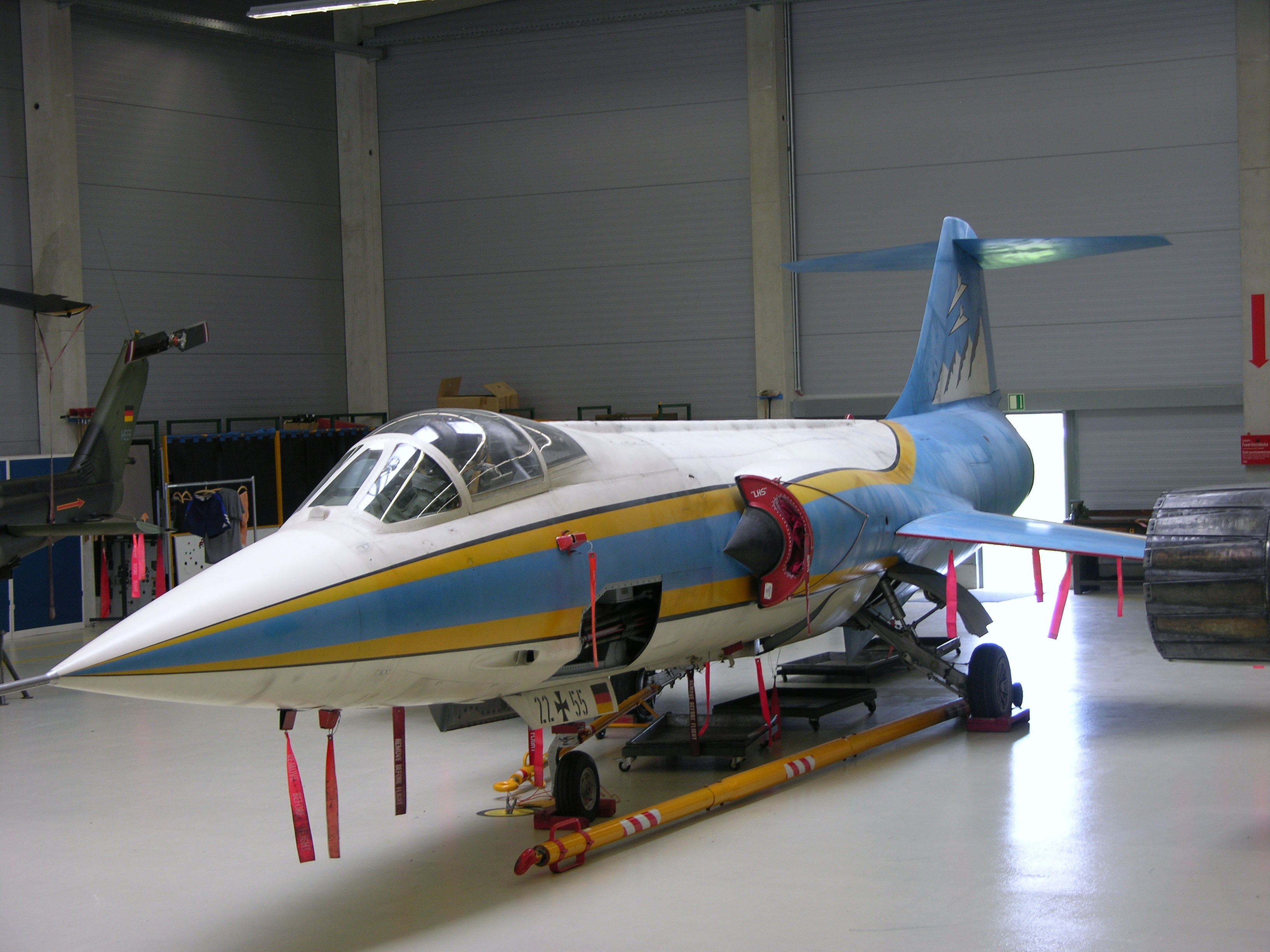 file2255 lockheed f104g starfighter in special marks