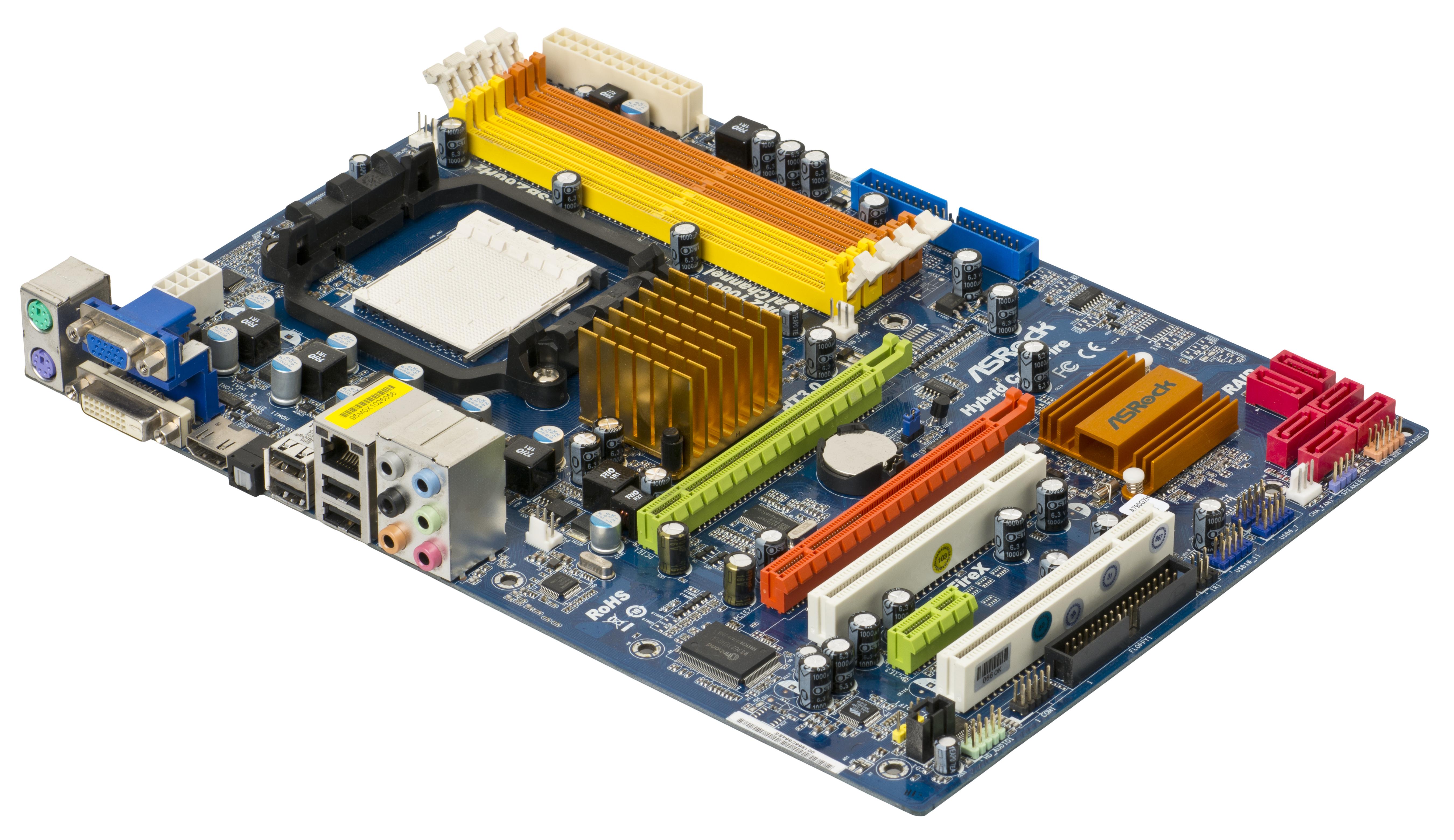 Hybrid motherboards edit  Motherboard