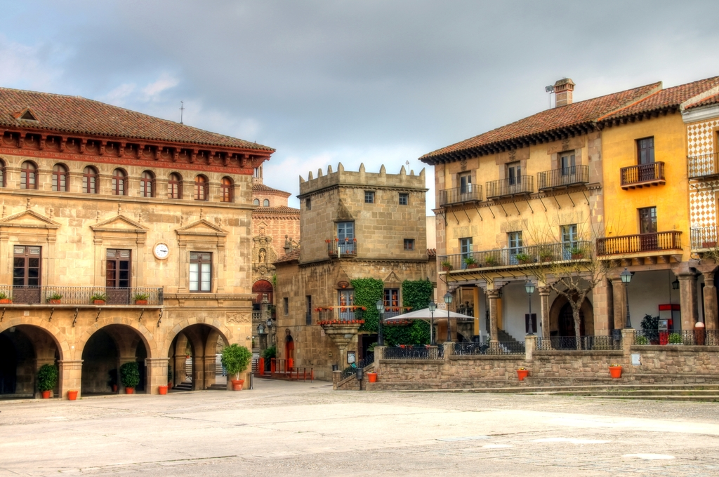 A Square in Baercelona.jpg