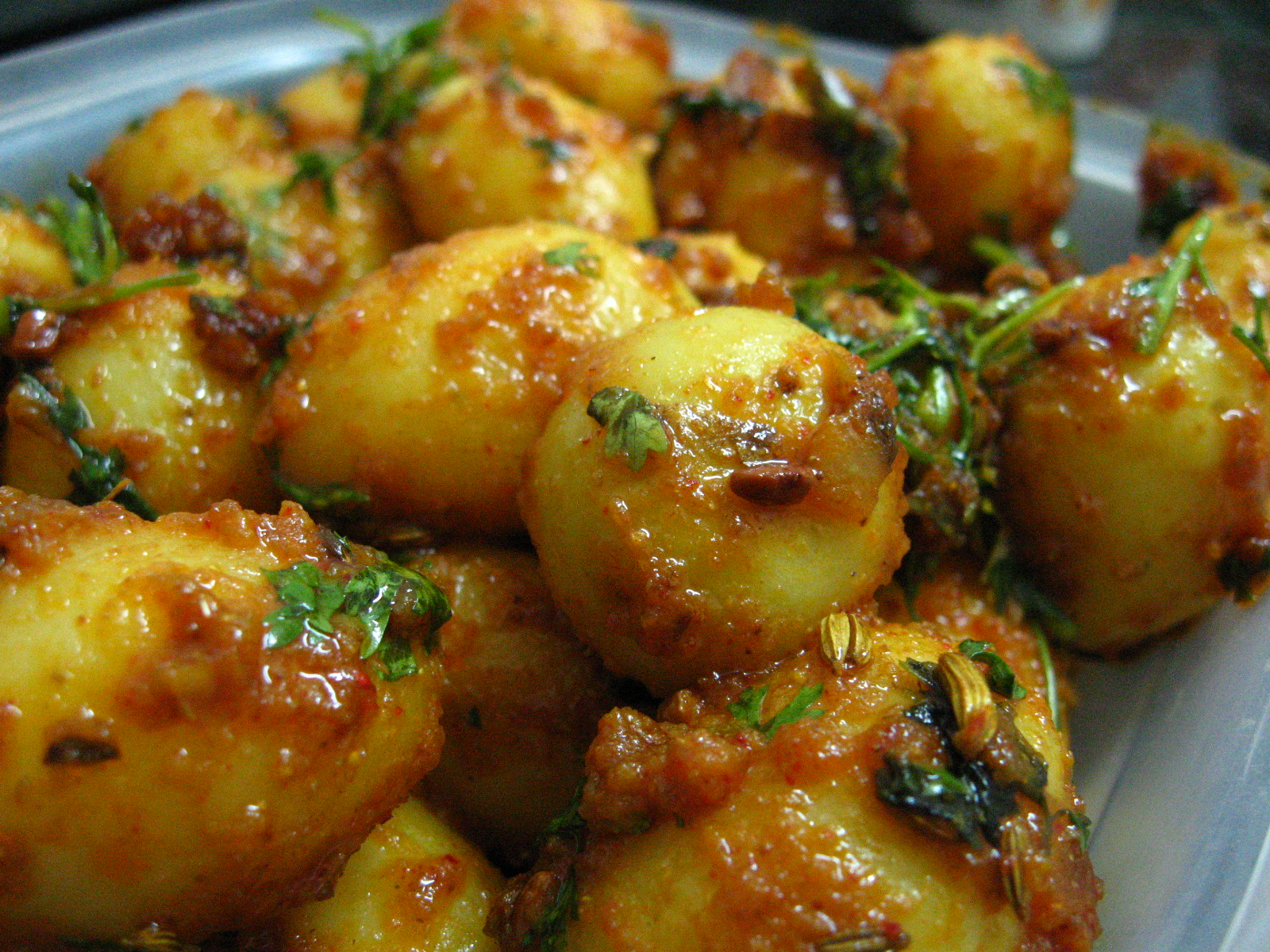 dum aloo this is what spicy rich dum aloo dum aloo is named so because ...