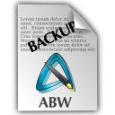 AbiWord Backup