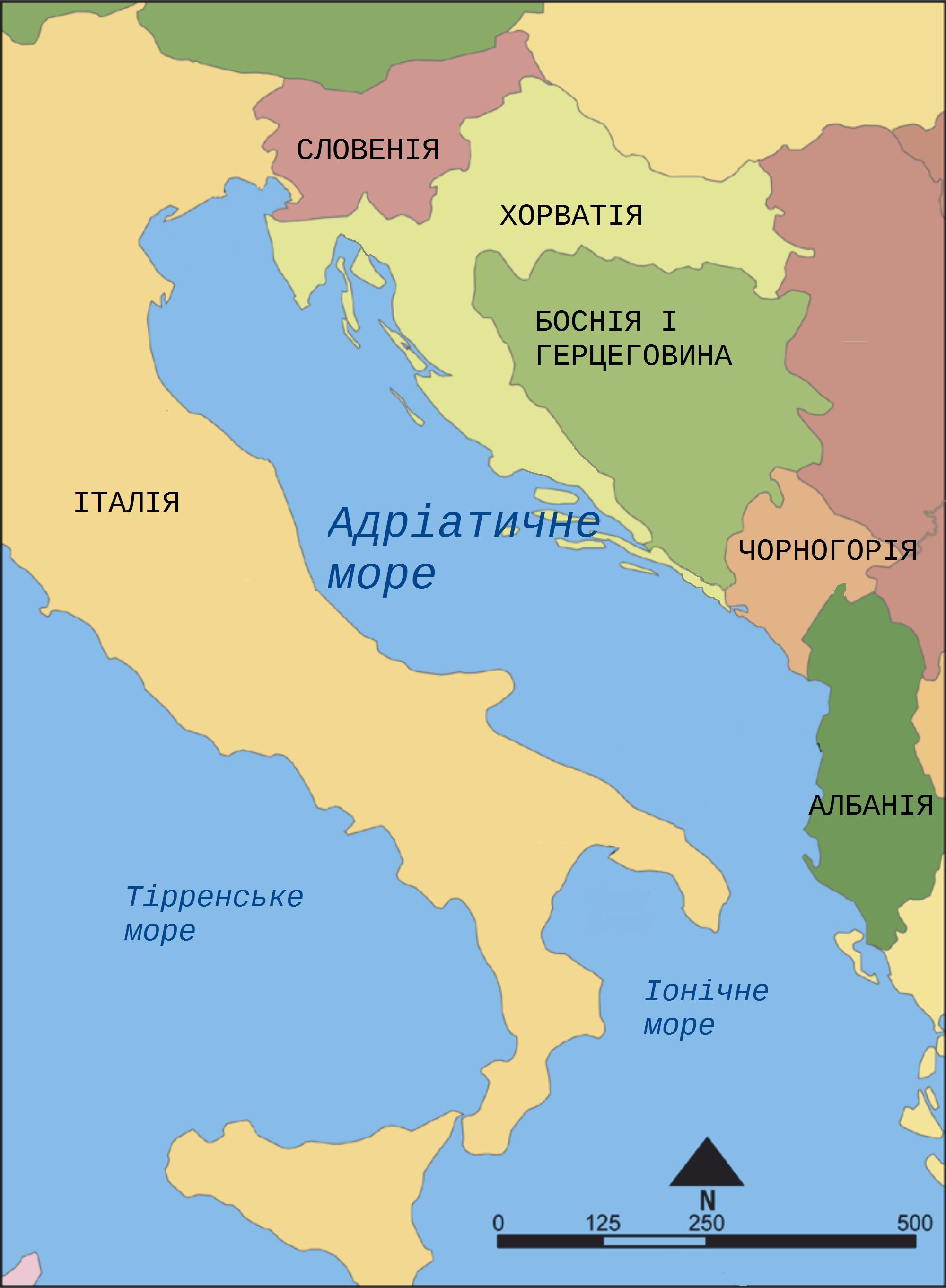 FileAdriatic Sea map ukpng Wikimedia Commons – Map Uk Org
