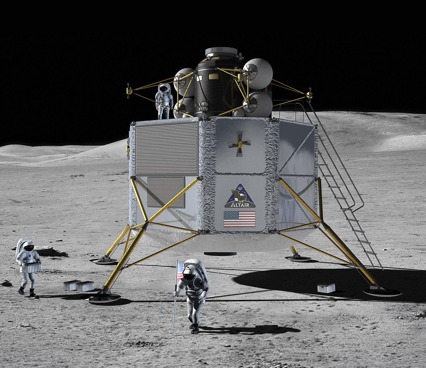 Lunar lander concept