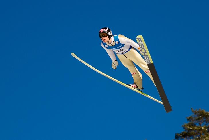 ski flying videos