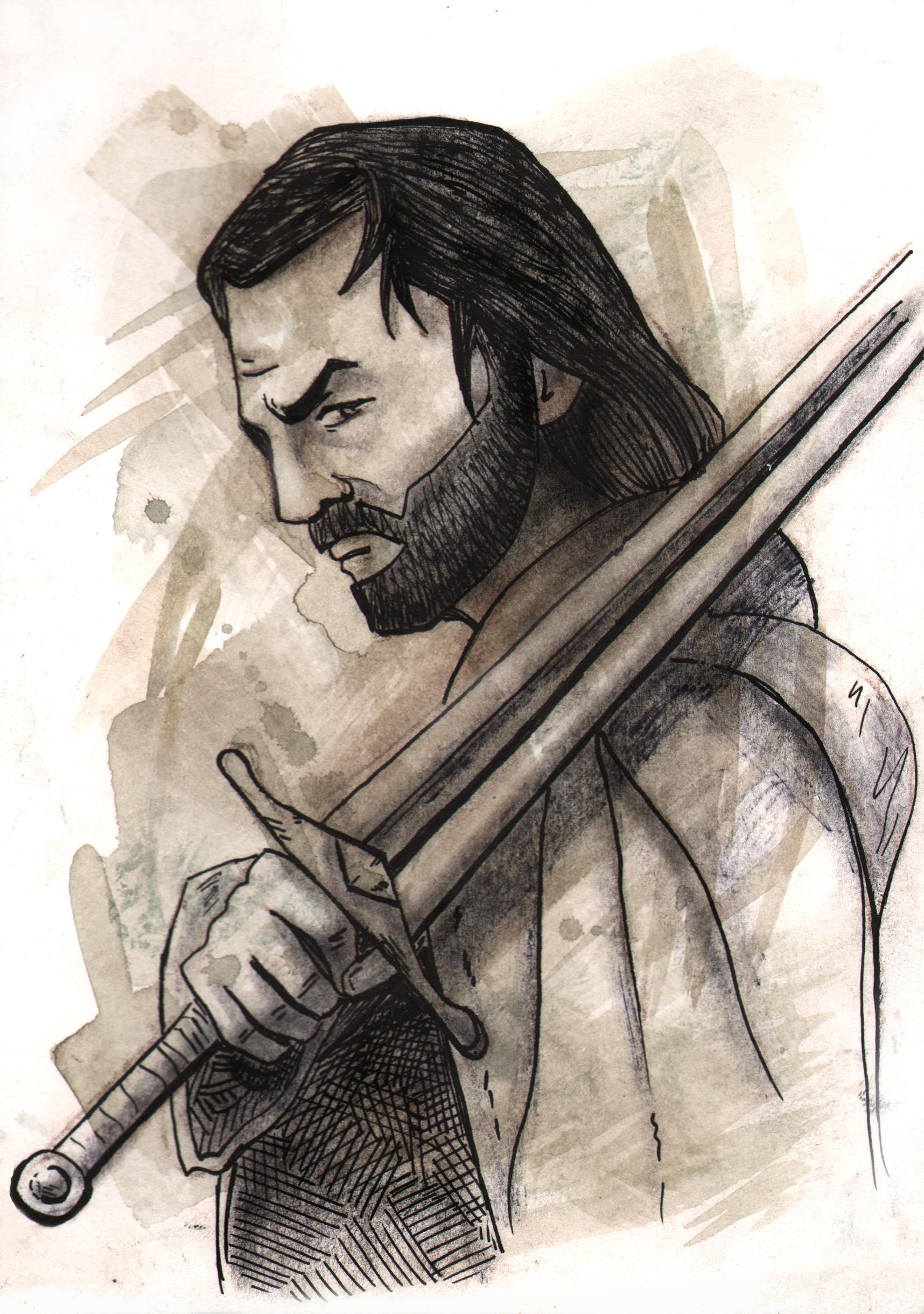 Récit d'un guerrier Aragorn